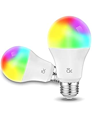 Smart Light Bulb, AL Abovelights 9W WiFi Led Smart Bulb, Works with Alexa, Echo, Google Home & Siri, Soft White, 60W Equivalent, ETL Listed - 2 Packs