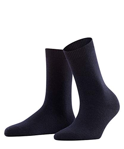 FALKE Damen Socken, Cosy Wool W SO-47548, Blau (Dark Navy 6379), 39-42