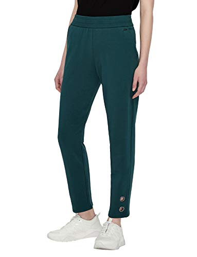 Armani Exchange Casual Sweatpants Pantalón Deporte, Marina Moss, XL para Mujer