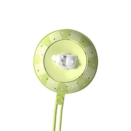 CSPFAIQL 2 en 1 Chauffe-Mains Rechargeable USB Chaufferette Main 5200mAh Power Bank Mini Portable Électrique Poche Réchauffeur de Mains Cadeaux pour Enfant/Femmes en Hiver,C-Green