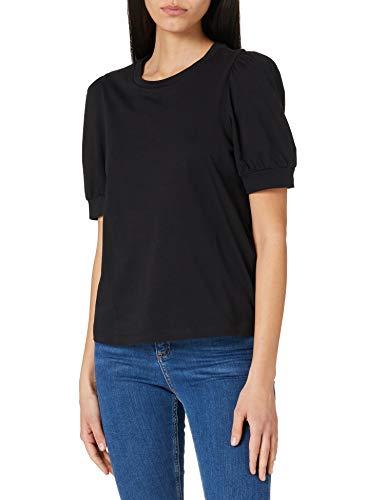 Vero Moda Vmkerry 2/4 O-Neck Top VMA Noos Camiseta, Black, XL para Mujer
