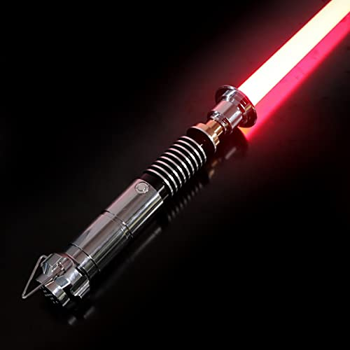 SABER KING Espada láser Luke Skywalker   RGB Lightsaber Force FX   Espada láser Fuerza FX   Espada de luz doble FX   12 colores RGB 6 Set Soundfonts   Espada láser FX   TS005