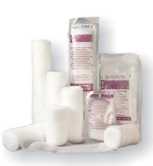 Medicom D306 Distech Conforming Stretch Bandage, Sterile, 3
