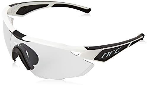 NRC nero, occhiale x3 hardknott fotocromatico bianco opaco Unisex adulto, taglia unica