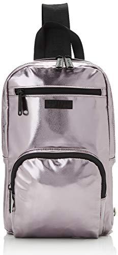 Superdry Damen Sling Backpack Rucksack Silber (Pewter)