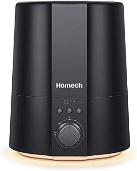 Homech 2.5L Small Cool Mist Ultrasonic Humidifier