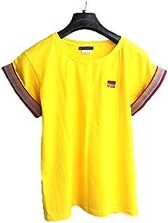 Emoltem Ladies Short Sleeve Cotton T-Shirts
