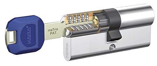 günstig Abdeckung Sicherheitszylinder + Verstärkungsmatrix 35X35 Nickel 5LK Doppelschlüssel… Vergleich im Deutschland