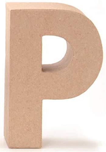 Papp-Buchstabe P 17,5x5,5cm