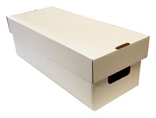 (10) Virgin Weiß Media/Manga/Spiel/DVD–Aufbewahrungsboxen mit Deckel von Max Pro