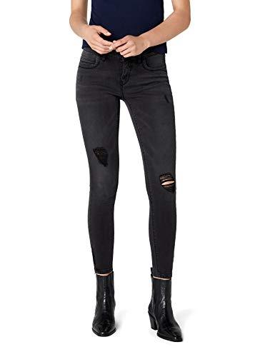 ONLY Damen onlKENDELL REG ANK DNM BJ9508 NOOS Skinny Fit Jeans, Schwarz (Black), W26/L30