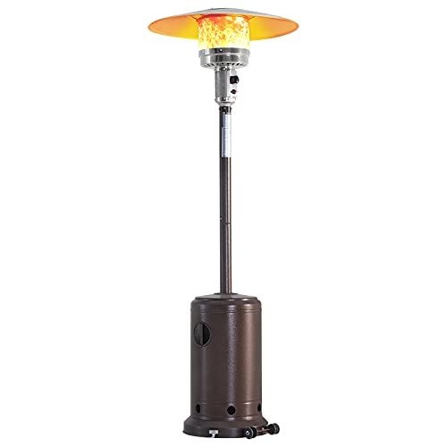 LAUSAINT HOME Patio Heater for Outdoor Use,46000 BTU Rapid Heating...