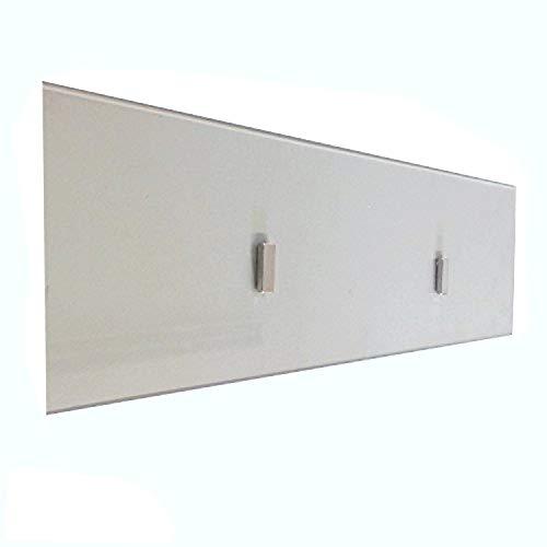 Kaminbau Mierzwa ( df-shopping ) Stabiles feuerfestes Kamin Schutzglas Sicherheitsglas inkl. 2 Magneten Wand- und Bodenkamine (Emily/Rafael/Moskau/Armin/Yvon/Dion XL/Loris XL)