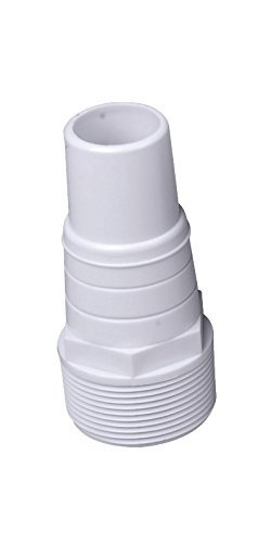 Steinbach Fitting Schlauchtülle, Ø 32/38mm x 1,5 Zoll Außengewinde, inkl. Teflonband, Doppelpack, 060030