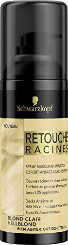 Schwarzkopf - Retouche Racines - Spray Masquant Racines - Blond Clair