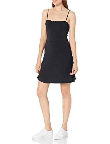 Volcom Junior's Shred Some Rug Dress, Black, Small