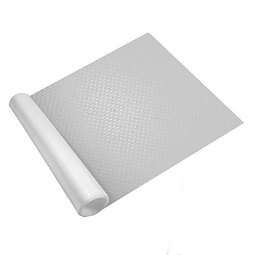 Forro de cajones - 3 Rollos | Alfombrilla lavable e impermeable para nevera | Armario, estante y protector de cajones | Revestimiento de encimera personalizable | Pukkr