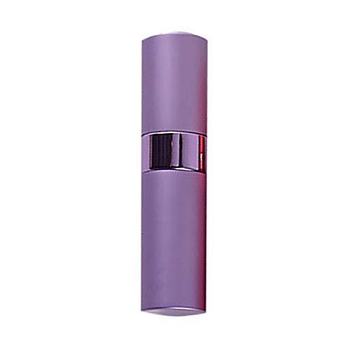 HSGei 8ML Bouteille de Parfum Spray Rotatif Portable Bouteille en Aluminium de Split Rotating télescopique Vaporisateur Bouteille Vide,Violet