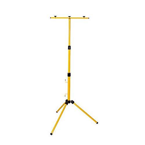 OUBAYLEW Lampe Teleskop Stativ Für 2 LED Halogenstrahler Flutlicht Ständer
