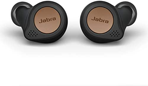 Jabra Elite Active 75t True Wireless Bluetooth Earbuds Copper Black Wireless Earbuds for Running product image