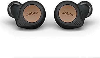 Jabra Elite Active 75t True Wireless Bluetooth Earbuds, Copper Black – Wireless Earbuds for Running and Sport, Charging...