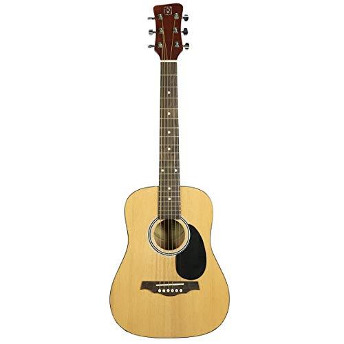 Guitarra acústica tamaño cadete 3/4. Tapa de abeto. Aros y fondo de tilo.