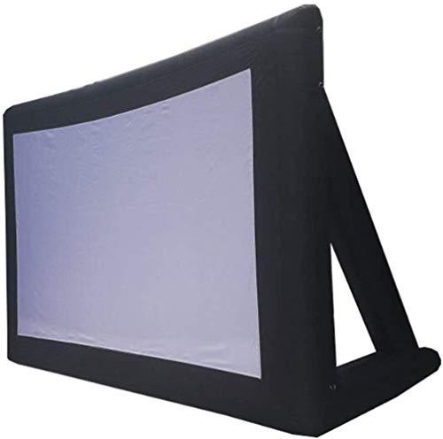YWAWJ Pantalla de Cine al Aire Libre móvil portátil Que Juega el Equipo for Wall Oficina de proyección de vídeo en Interior, Exterior Escuela de Cine en casa Cine 9 * 7M