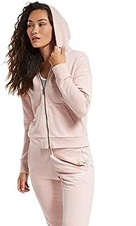 Reebok Women's Te Textured Logo Fullzip Sweatshirt