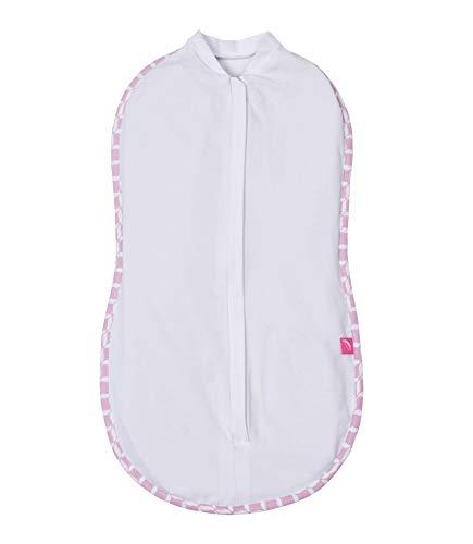 Motherhood Pucktuch zip & swaddle - Größe 1 (2,5-5kg) rosa classics