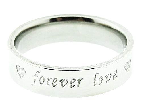 Ring voor man - man en vrouw - klein hart - trouwring - voor altijd - verloving - kerstmis - valentijnsdag - juweel - origineel cadeau idee