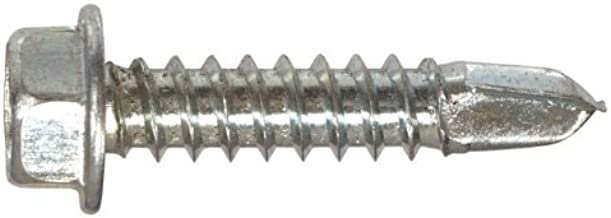 The Hillman Group 35101 Hex Washer Head Sheet Metal Screw 8 x 3//4 75-Pack
