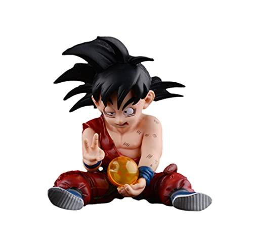 Figura de Anime Dragon Ball Son Goku acción PVC Juguetes estatuilla Kakarotto Modelo muñeca Coleccionable Juguetes Figma Goku DBZ