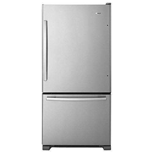 Amana ABB1924BRM 18.5 Cu. Ft. Stainless Steel Bottom Freezer Refrigerator - Energy Star