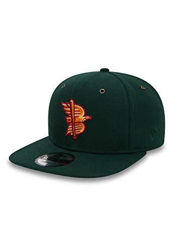 New Era MIN LG OD 9Fifty Snapback Cap Boise Hawks Dunkelgrün, Size:S/M