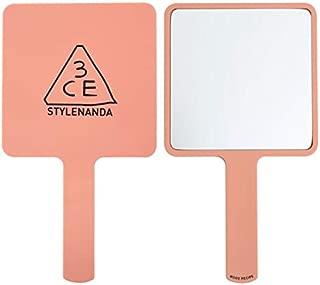 [3CE] 3CE MOOD RECIPE SQUARE HAND MIRROR #ROSE BEIGE, 120217mm