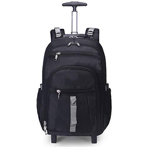 LYHLYH draagbare tas, koffer, voor studenten, boarding, carry-ons, waterdicht, slijtvast, voor reizen, 2 wielen, trolley voor zakenreizen