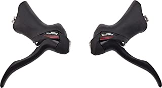 Shimano ST-A070 Road Shifters 2 x 7-Speed Black Pair