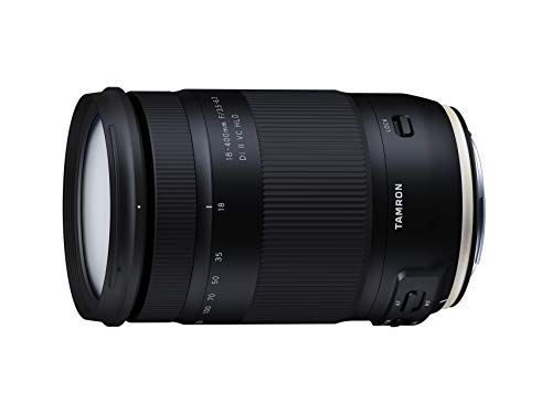 Tamron Ultra-Tele-Megazoom 18-400mm F/3.5-6.3 Di II VC HLD Lens voor Canon zwart