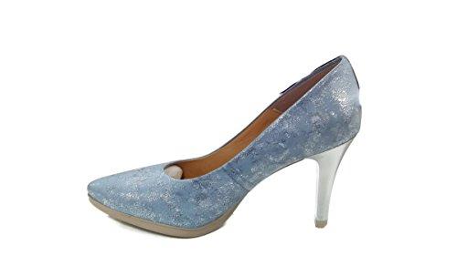 Chamby - Zapatos Tacon Piel -Zapatos salón Zapatos
