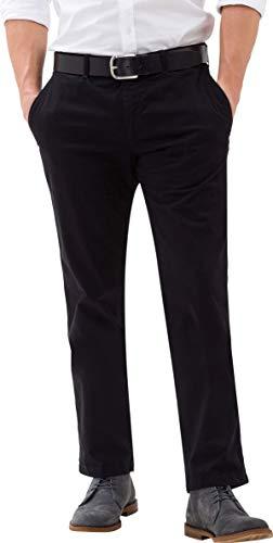 BRAX Herren Style Evans Chinohose in Leichter Kapok-Qualität Hose, Perma Black, 52