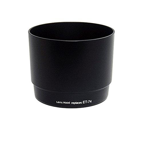 JJC Sonnenblende LH-74, passend für Canon Objektive EF 70-200mm f/4L IS USM , EF 70-200mm f/4L USM - ähnlich canon ET-74 - Gegenlichtblende, Streulichtblende