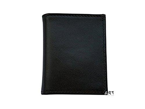 Officially Licensed U.S. Navy Genuine Leather Hidden Badge Wallet