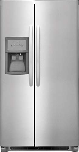 Frigidaire FFSS2625TS Side by Side Refrigerator with 25.6 cu. ft. Capacity, in Stainless Steel