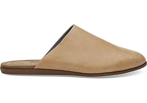TOMS Women's Jutti Honey Leather Mule Shoes (8)