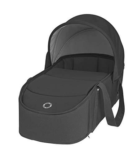Maxi-Cosi Laika comfortabel gewatteerde en ruime zachte draagtas essential black