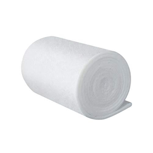 POPETPOP El algodón del Filtro del Acuario Espesa el algodón de Alta Densidad Protectora bioquímico del Filtro de la Espuma para el Acuario