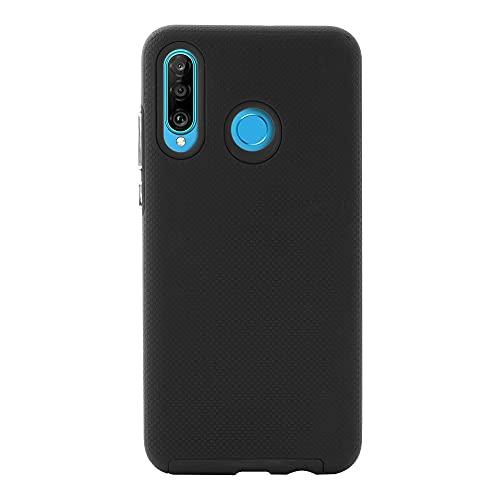 Mobo Funda Huawei P30 Lite Protector Titanium Negro Huawei P30 Lite Resistente A Impactos Case Huawei P30 Lite