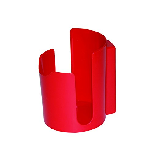 GRIP On Tools 53445 Magnetic Cup Holder, Red