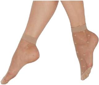 Carina Socks - Voile Socks Jakard - For Women - Black