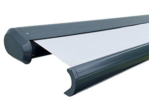 Scalant Vollkassettenmarkise elektrisch Sun 600 (600 cm x 300 cm) mit Wind-Regensensor I Gelenkarmmarkise, Markise, Sonnenmarkise, Sonnenschutz